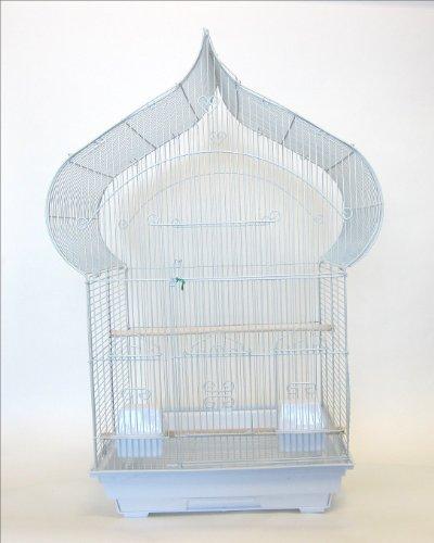 yml-3-8-inch-bar-spacing-taj-mahal-bird-cage-18-inch-by-14-inchwhite