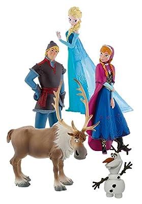 Bullyland Disney Frozen Deluxe Set