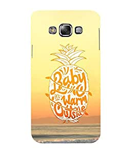 Mental Mind 3D Printed Plastic Back Cover For Samsung Galaxy E5- 3DSAME5-G1271