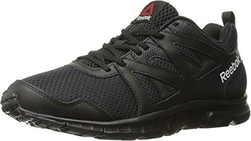 Reebok Men's Supreme 2.0 MT Running Shoe, Black/Coal/White, 10 M US