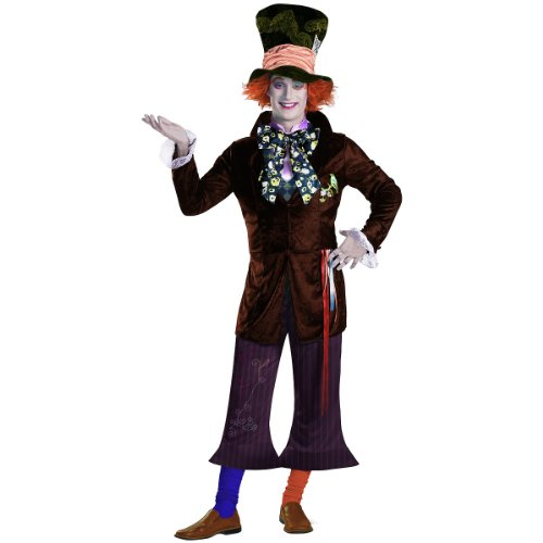 Prestige Mad Hatter Costume - X-Large - Chest Size 42-46