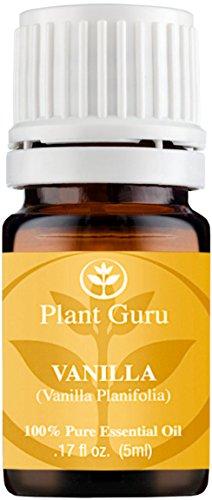 Vanilla Essential Oil. 5 ml. 100% Pure, Undiluted, Therapeutic Grade. Sample Size