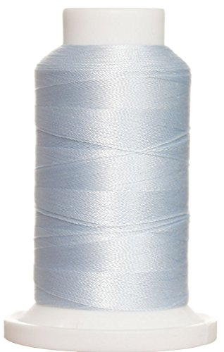 1M-3668 BFC Poly Machine Embroidery Thread, 40 Wt, 1000m, PALE Clear Blue (Embroidery Machine Thread Blue compare prices)
