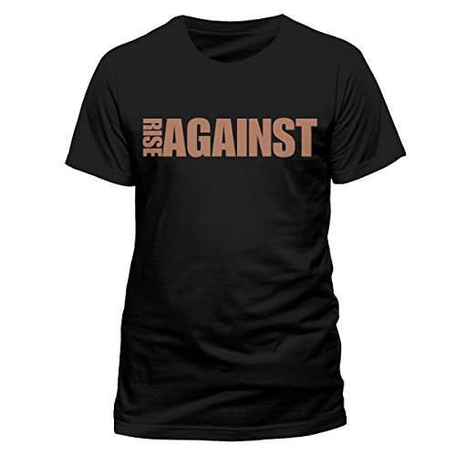 Beats & More RISE AGAINST - STANDARD RISE-T-shirt  Uomo    Nero (Schwarz) Small