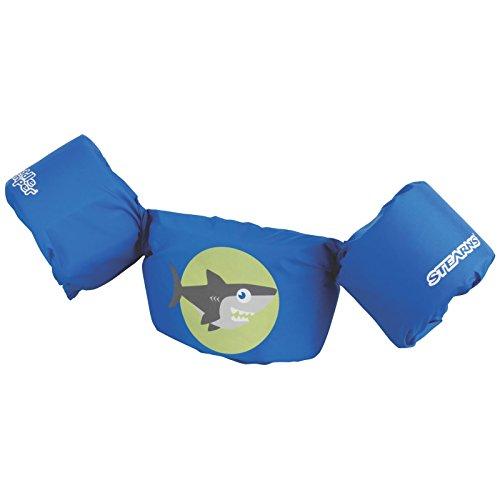 Stearns Puddle Jumper Life Jacket, Shark,Fits Kids 30-50 lbs