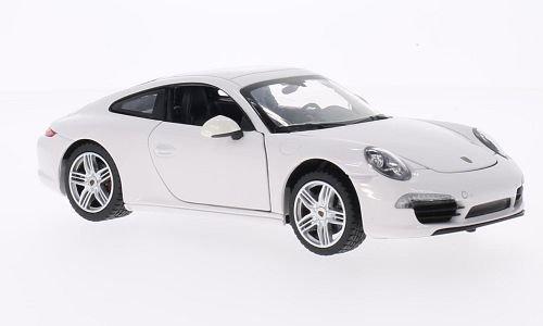 Porsche 911 Carrera S, white, Model Car, Ready-made, Rastar 1:24 (Porsche 911 Model Car compare prices)