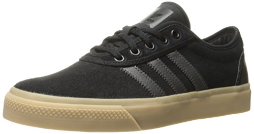 Adidas Performance Men's Adi-Ease Fashion Sneaker, Black/Solid Grey/Gum, 10.5 M US