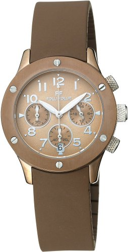 Folli Follie (フォリフォリ) 腕時計 ブラウン WT6T042SEB レディース [並行輸入品]