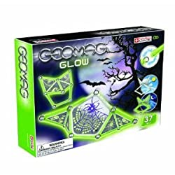 GEOMAG KIDS PANELS GLOW - 37 PIECES