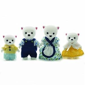Sylvanian Families Polar Bear Family