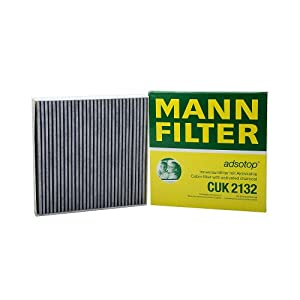 Mann-Filter CUK 2132 Cabin Filter With Activated Charcoal for select  Smart models