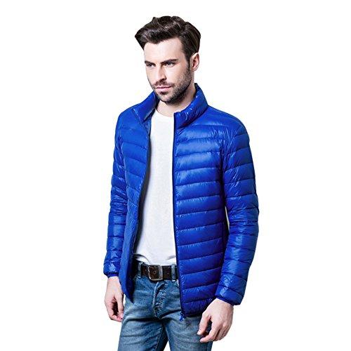 Botetrade Herren Marke im Freien 90% Ente Daunenjacken Parka Sport Jacket Sapphire Blue XXXL