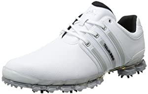 adidas Men's Tour 360 ATV M1 Golf ShoeWhite/Metallic Silver/White,10.5 M US