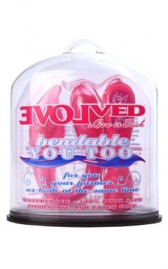 Bendable You Too Pink (Package Of 5)