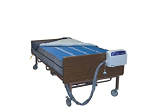 """Drive Medical 14030 Med Aire Bariatric 10"""" Mattress and Pump System"""