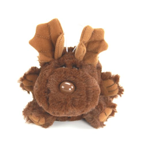 "Purr-Fection Molly Cushy Critter Moose 5"" Plush"