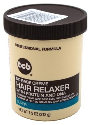 Tcb Hair Relaxer No Base Creme 7.5oz. Super Jar