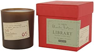 Paddywax Library Collection Tangerine, Juniper, Clove, Charles Dickens Soy Wax Candle