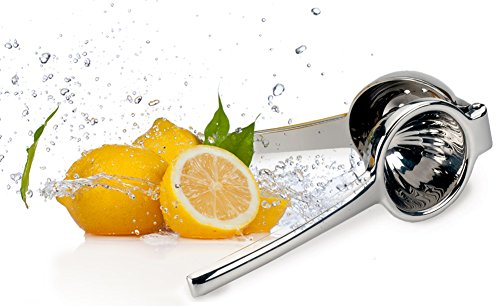 Lemon/Citrus Squeezer - Stainless Steel Manual Juicer for Making Lemonade and Other Fruit Juice