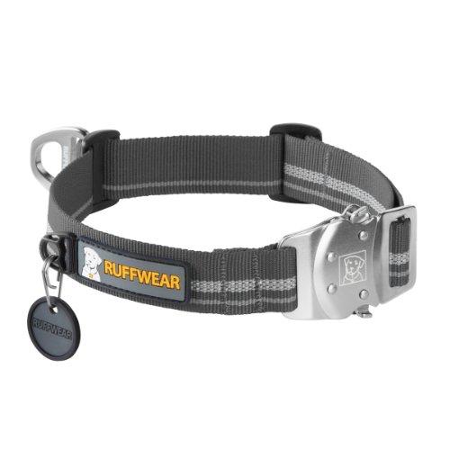 Ruffwear Top Rope Collar, Large, Granite Gray