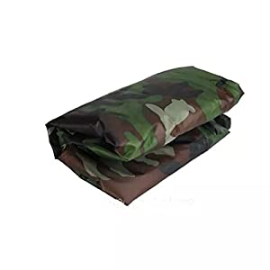 Goliton® 295*110*140cm Motorcycle Covering Waterproof Dustproof Scooter Cover UV resistant Heavy Racing Bike Cover Camouflage by Goliton