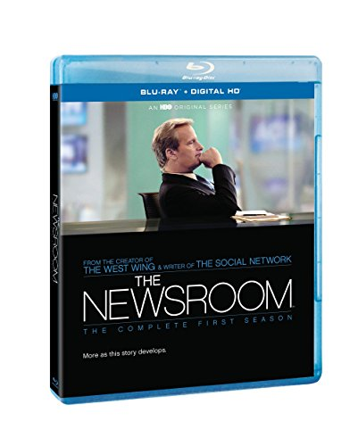 Blu-ray : The Newsroom: The Complete First Season (Boxed Set, Full Frame, Digital Copy, Slipsleeve Packaging, )