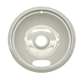 "Range kleen Drip Bowl Porcelain / Almond Large / 8"", Single Pack - P102A"