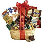 Broadway Basketeers Chocolate Valentine's Day Gift Basket