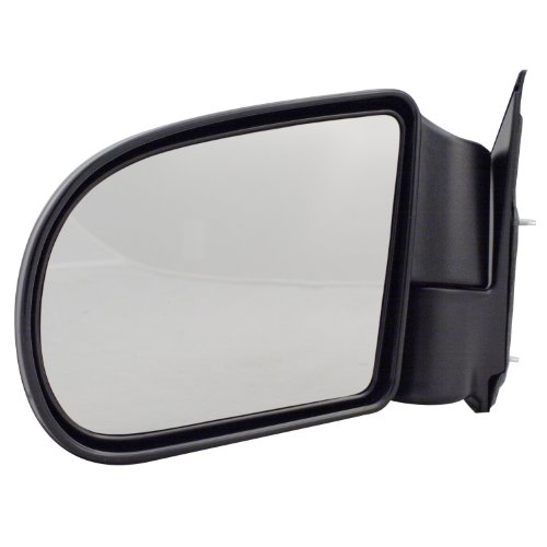 For 87-95 Toyota Pickup Truck 4Runner Manual Black Rear View Mirror Left Driver