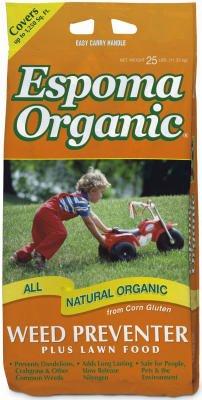 Espoma CGP25 Organic Weed Preventer, 25-Lbs.