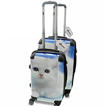 Amazon.com: Cats 10004, 2 Piece Lightweight Hard Case