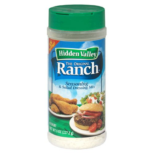 Hidden Valley Salad Dressing Mix Original Ranch Recipe, 8-Ounce Units (Pack of 3)