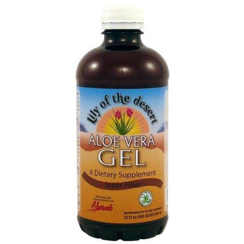 Lily Of The Desert Aloe Vera Gel, Inner Fillet, 32-Ounces (Pack Of 4)