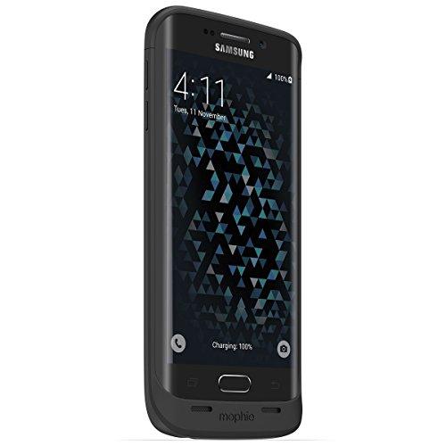 日本正規代理店品・保証付mophie juice pack for Galaxy S6 edge SC-04G/SCV31 ブラック  MOP-GS-000004