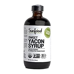 Yacon Syrup Organic Sunfood 8 fl oz Liquid
