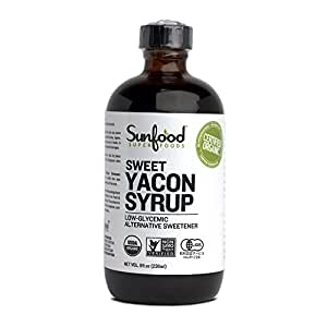 Yacon Syrup Organic Sunfood - 8 fl oz Liquid