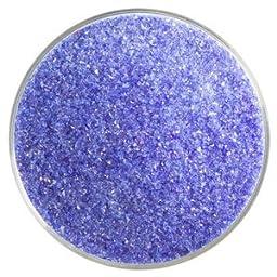 5 Oz Gold Purple Transparent Fine Frit - 90 Coe