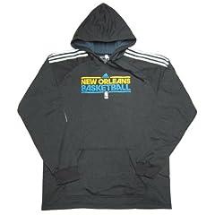 New Orleans Hornets Team Issued Adidas Promo Practice Hood - Hooded Sweatshirt -... by adidas