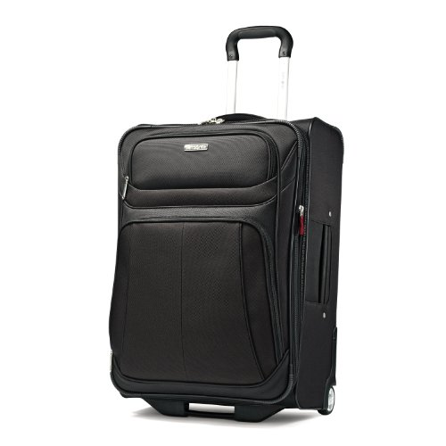 Samsonite Luggage Aspire Sport Upright 25 Expandable Bag, Black, 25 Inch