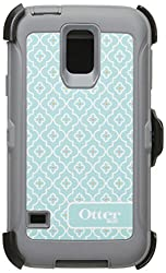 Otterbox Defender Series for Samsung Galaxy S5 with Holster/Screen Protector/Retail Packaging - (Slate Grey/Moroccan Sky)