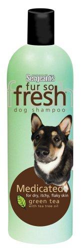 Sergeant's Fur-So-Fresh 21.8Ounce Medicated Dog Shampoo with Tea Tree Oil