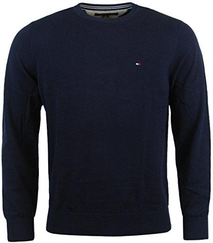 tommy hilfiger mens crewneck pullover sweater. Black Bedroom Furniture Sets. Home Design Ideas