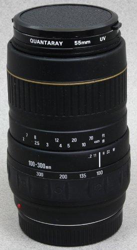 QUANTARAY 100-300mm f/4.5-6.7 LDO FOR NIKON AF