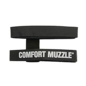 Coastal Pet Products DCP1311 Dog Comfort Muzzle, Medium, Black