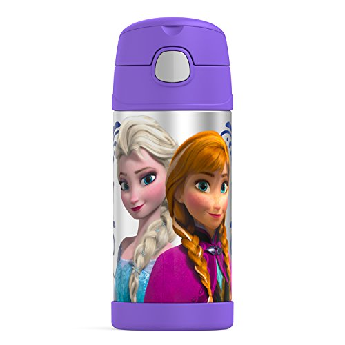 Thermos Funtainer 12 Ounce Bottle, Frozen Purple (Disney Frozen Drinking Cups compare prices)