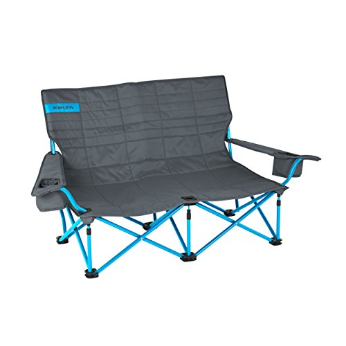 Kelty Low Loveseat Camp Chair Smoke Paradise Blue Furniture Sofas Loveseats