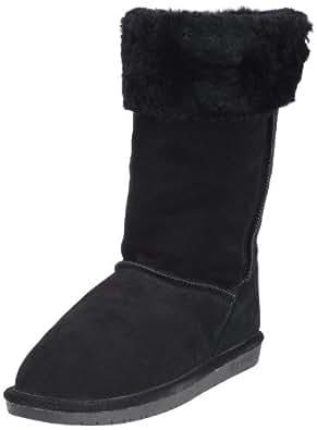 BEARPAW Women's Marissa Boot,Black,5 M US