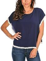 La belle parisienne Camiseta Manga Corta Lauren (Azul)