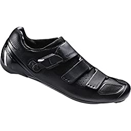 Shimano 2016 Men\'s Flagship Performance Race Road Cycling Shoes - SH-RP9 (Black - 45.0)