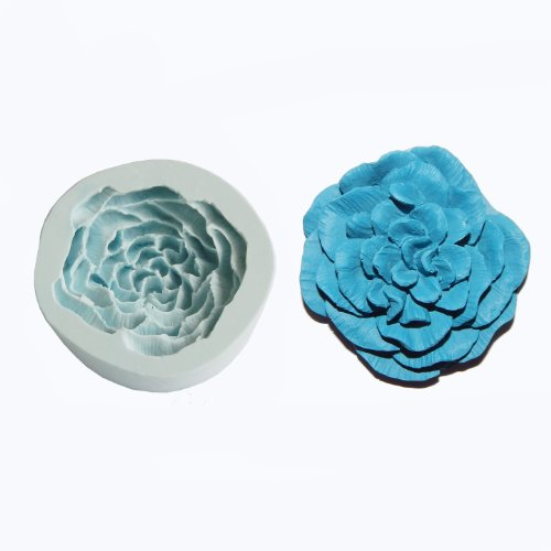 O.K Molds Silicone Flower Cake Decorating Gompaste Supply M4722